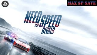 [PS4] Need for Speed Rivals - Racer & Cop Mode - Max SP Save