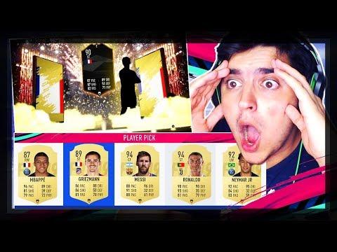 O MELHOR FUT DRAFT QUE JÁ TIVE!!   FIFA 19