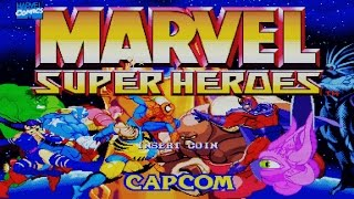 Marvel Super Heroes (Arcade Game Intro)