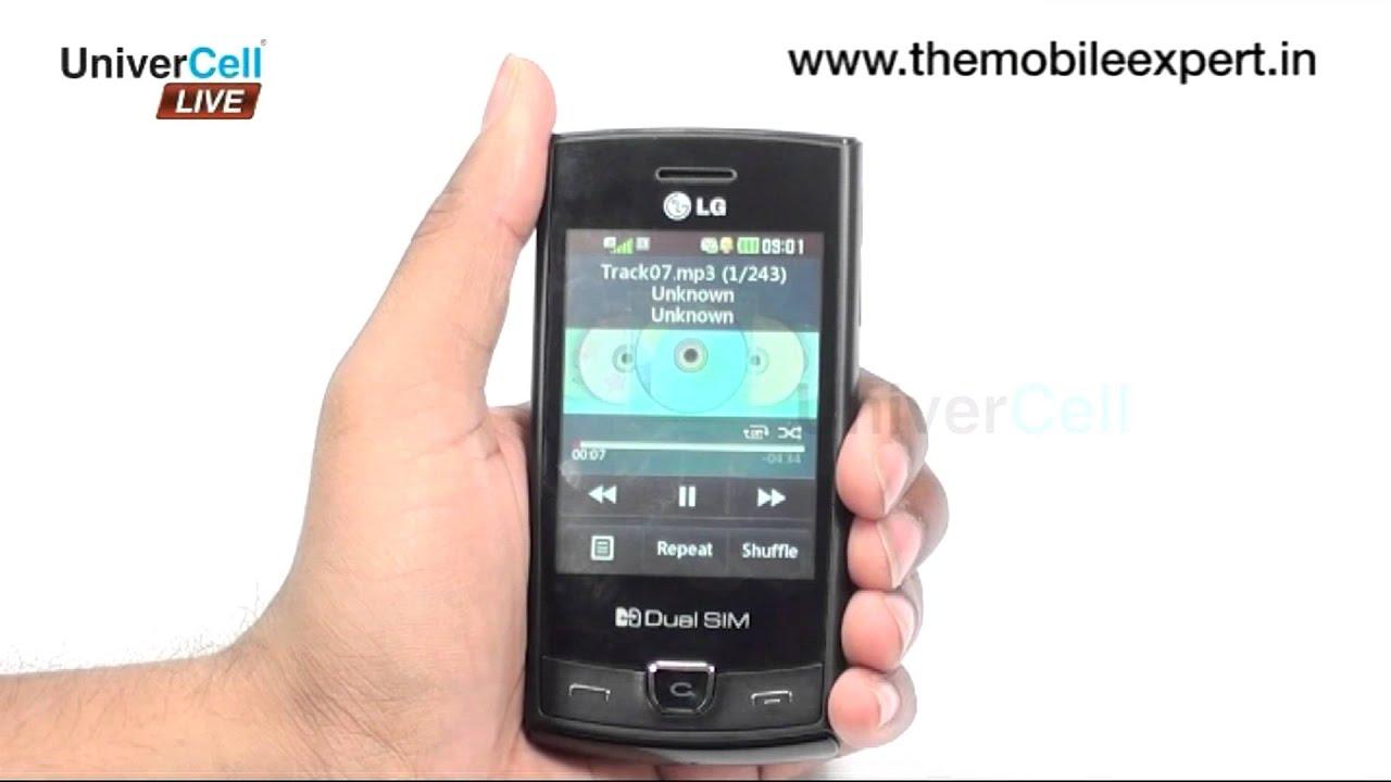 LG P520 Connectivity Videos - Waoweo