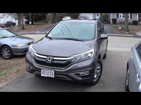 2015 Honda CR-V EX Startup, Walkaround, & Full Tour