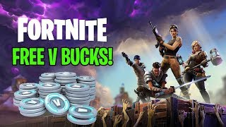 Get a FREE V Bucks-fortnite Battle Royal Guide