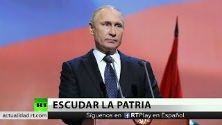 Putin: Es alarmante la expansión del escudo antimisiles de EE.UU.