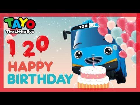 Happy Birthday Song l Tayo Birthday Song l Congratulation Tayo! l Happy Birthday Tayo ♥