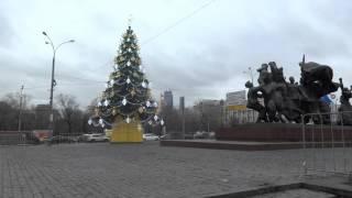 видео Дед Мороз на метро Беговая