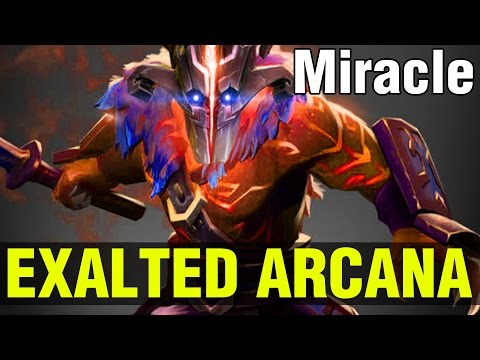 EXALTED ARCANA !! - Miracle- JUGGERNAUT - Dota 2