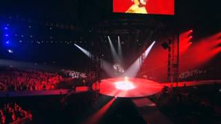 Perfume at the Tokyo Dome 2010 -- live concert opening act Standard...
