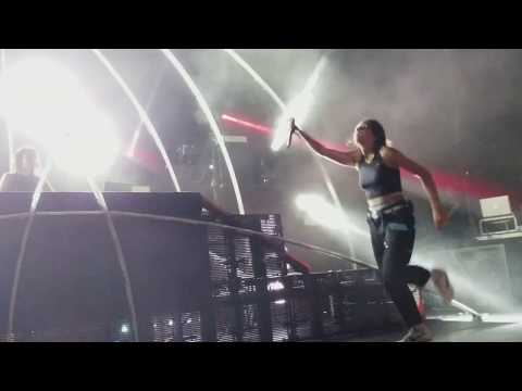 Krewella performs Be There @ New World Tour @ The Warfield, SF