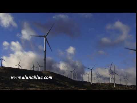Wind Turbine 3008 HD Stock Video Footage