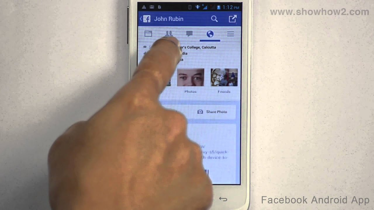 Facebook android app how to post on friends timeline youtube m4hsunfo