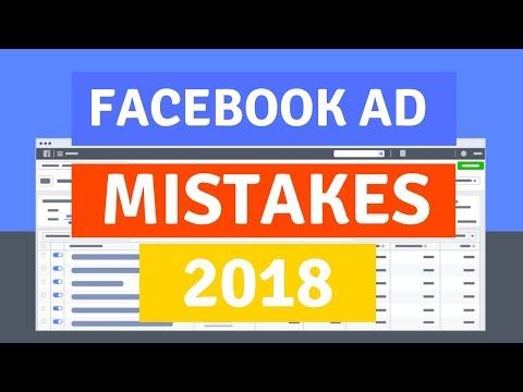 3 Huge Facebook Ad Mistakes To Avoid in 2018 (Shopify Beginners Guide)