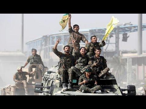 انسحاب قوات سوريا الديمقراطية -بشكل كامل- من مدينة رأس العين الحدودية مع تركيا  - نشر قبل 44 دقيقة