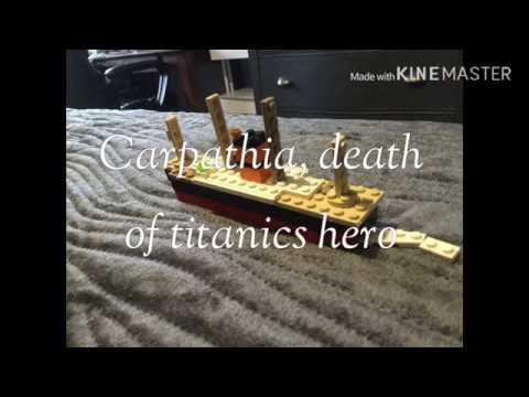 Download Carpathia, death of titanics hero