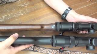 サワー101の引き金は狩猟銃としては絶品です。ウィンチェスターM70とサ...