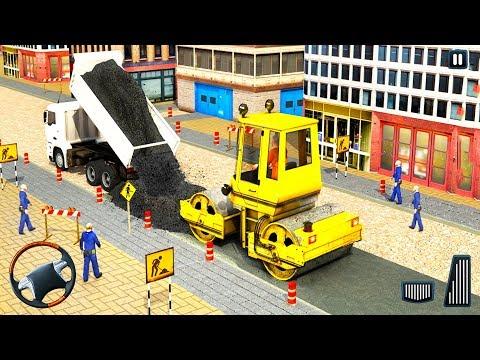 Excavator Construction Road Builder Simulator #3 - Android iOS Gameplay