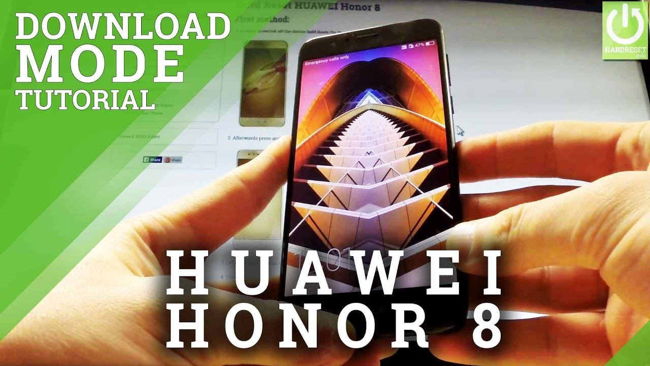 How to Enter Download Mode HUAWEI Honor 8 - Quit Download Mode