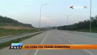 Jalan Tol Trans Sumatera Siap Dipakai Untuk Mudik