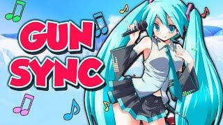 ♪ ievan polkka ♪ overwatch gun sync hatsune miku vocaloid