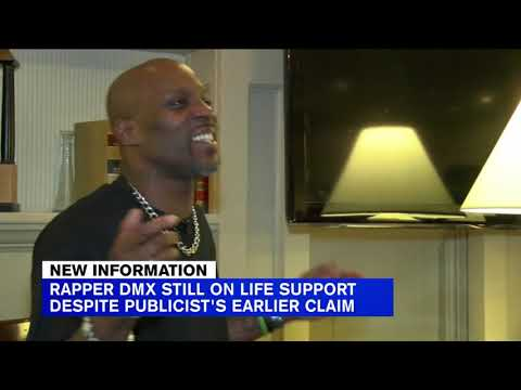 Rapper DMX still on life support, publicist now says