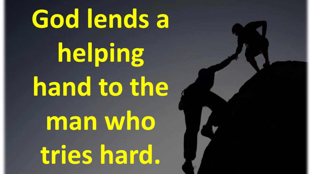 Quotes About Helping Humanity And Helping Hand Quotes  Youtube