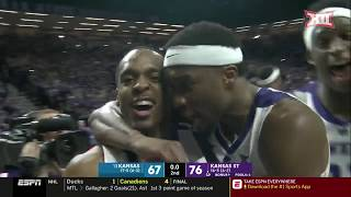 Kansas vs Kansas State Men's Basketball Highlights