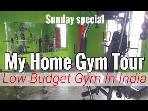 My Home Gym Tour | Low Budget (Rs.70,000) Indian Home Gym Tour (Sunday Special)☺️sorry For My Hindi