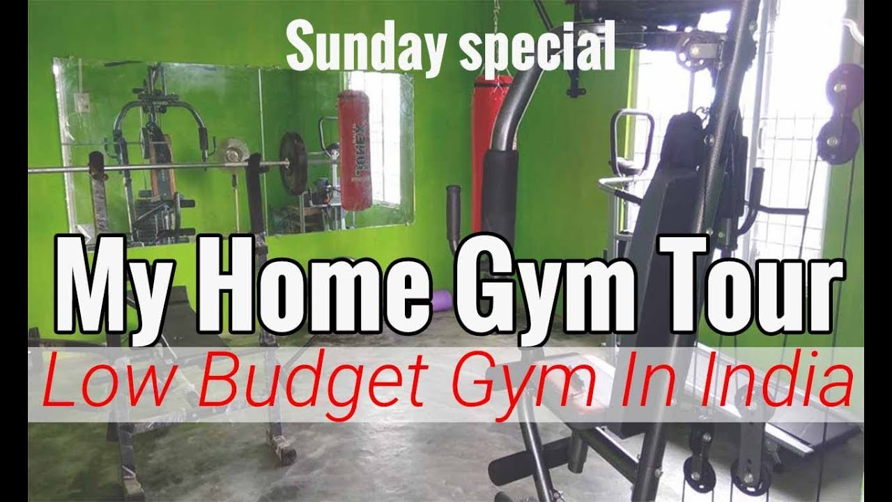 My home gym tour low budget rs indian home gym tour