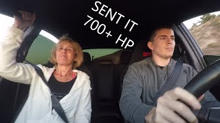 homepage tile video photo for MY AUNT IS A SAVAGE! I sent it in the Subaru STI