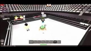 ROBLOX Wrestling Entertainment Episode 5 Part 1