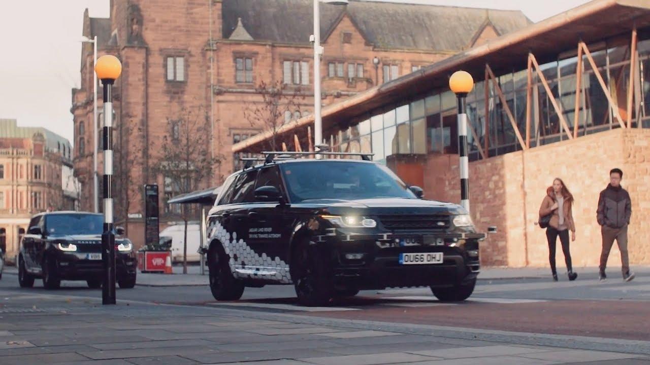 Jaguar Land Rover are testing autonomous vehicles