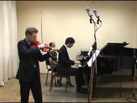 Brahms, Violin Sonata No 2 in A Major
