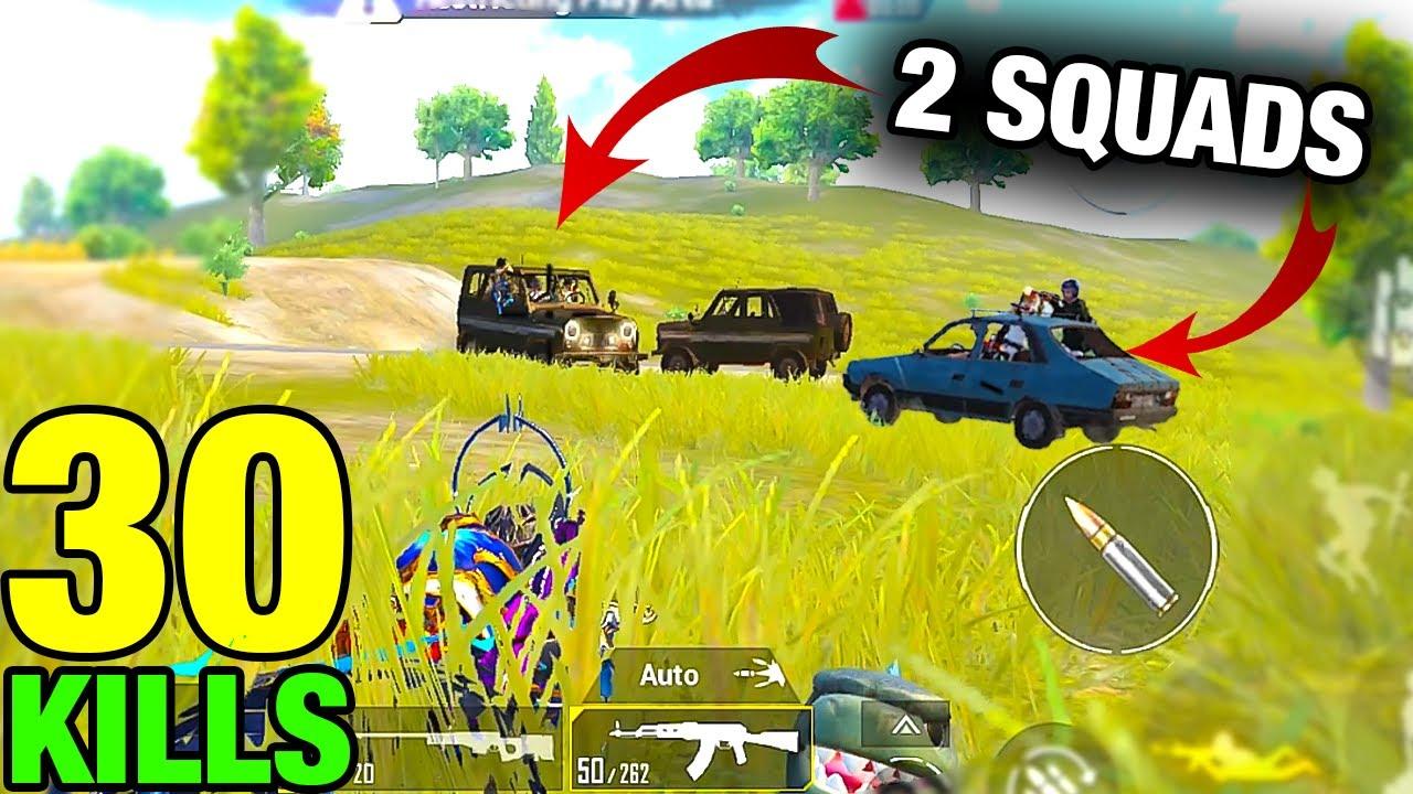 Download OMG!!! 2 SQUADS RUSH ME | BGMI 30 KILLS SOLO vs SQUAD