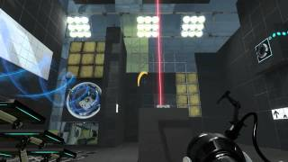 "Portal 2 Co-op ""Peer Review"" DLC - Part 2 - WE ARE GENIUSES!"