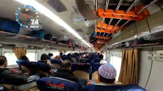 New Paharika Express Running 70kmh speed || 4K Video ||