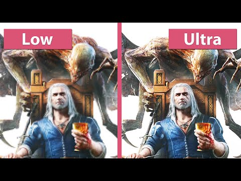 The Witcher 3 Blood and Wine – PC Low vs. Medium vs. High vs. Ultra Graphics Comparison