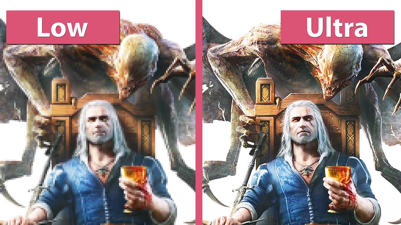 Low Vs Medium Vs High: The Witcher 3 Blood And Wine