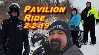 Riding in Pavilion, NY AGAIN: 2-2-19
