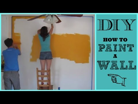 DIY How We Painted Our Dining Room Wall