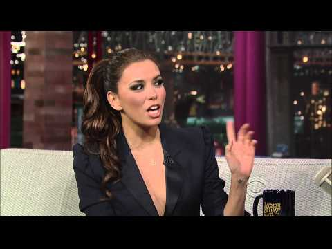 Eva Longoria (The Late Show with David Letterman), 6. April 2011