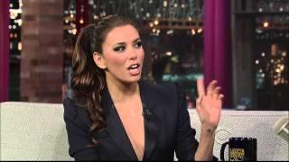 Eva Longoria (The Late Show with David Letterman), 6. April 2011
