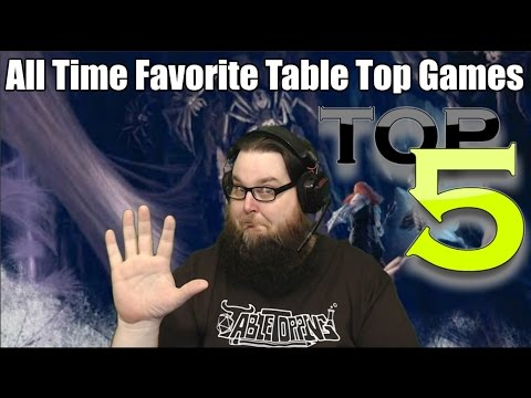 The Digital Dungeon Masters All Time Top 5 Favorite Table Top Games!