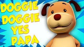 Собачка Собачка Да Papa русские стихи русский мультфильмы Doggie Doggie Farmees Russia