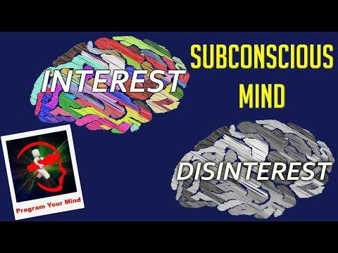 Use Subconscious Mind's Power: Create Interest or Disinterest | VED [in Hindi]