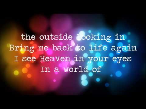 """The Letter Black - """"Outside Looking In"""" {Lyrics}"""