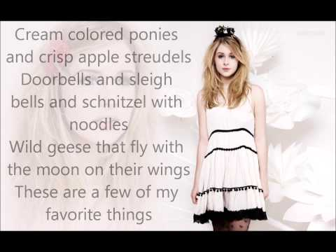 "My Favorite Things- Diana Vickers (One Direction Fragance ""Our Moment"")"