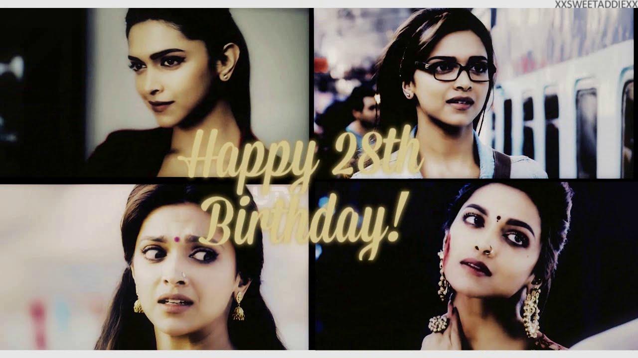 Happy 28th Birthday Deepika Padukone! (+Fan Messages ...
