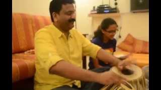 Amrithrashree sings De Darshan Maa