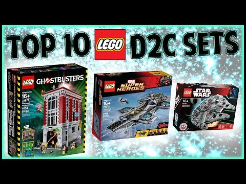 Top 10 LEGO Direct To Consumer (D2C) Sets
