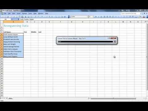 Excel 2003 vs Excel 2013 - flash fill