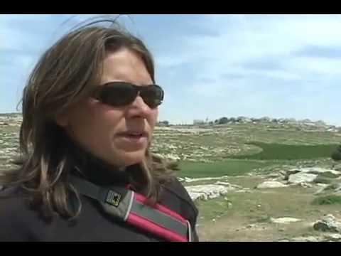 Zionist Israeli Settlers Stoning Palestine Children walking to school